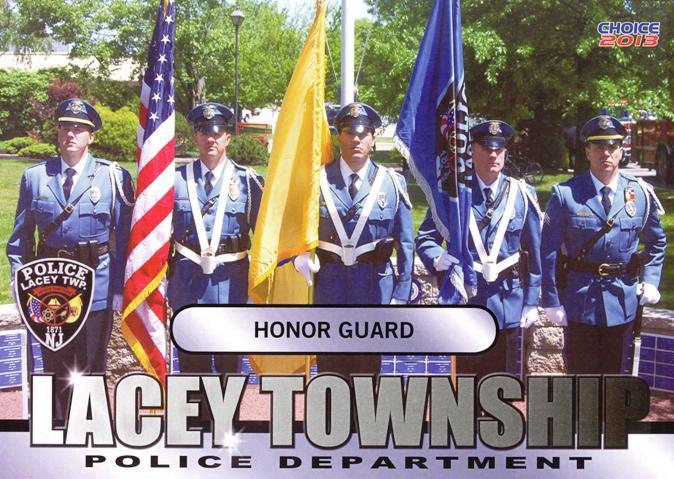 Cop Card - Honor Guard