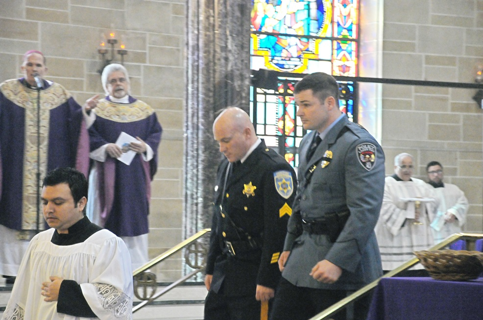 Blue Mass in Trenton 2014