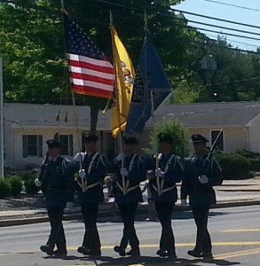 Lacey PD Honor Guard - Memorial Day Parade - May 26 2014