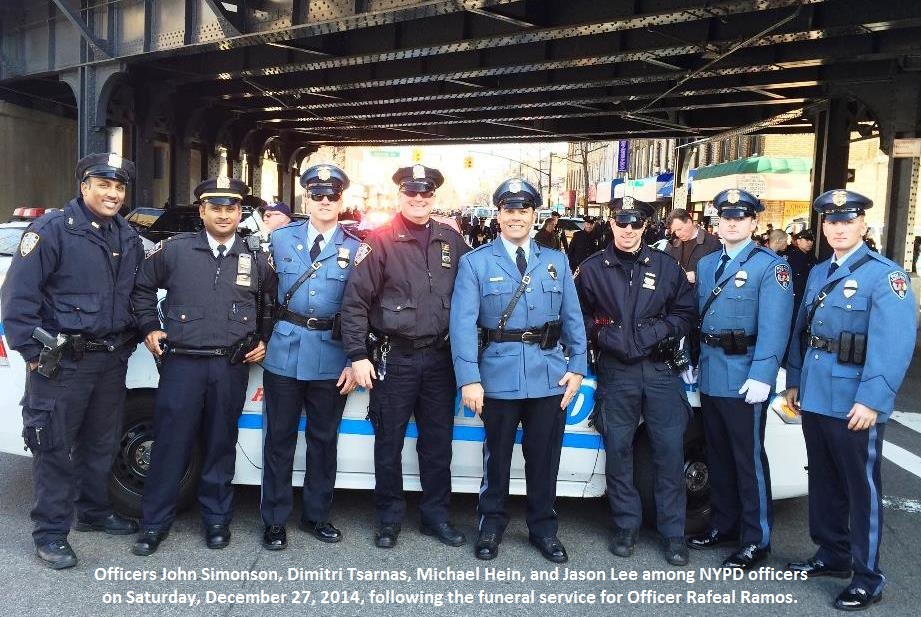 NYPD Funeral  12-27-14