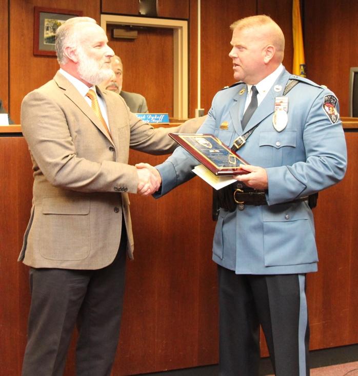 Sgt Tranz Plaque Presentation 1-22-15