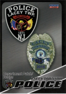 Badge and Patch Cop Card