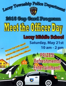 Meet the Officer Day 2016 - Flyer